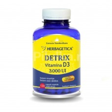 Detrix, Vitamina D3 3.000UI, 120 cps vegetale