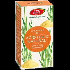 Acid Folic Natural, capsule
