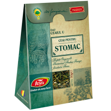 Ceaiul U – ceai pentru stomac, ceai la pungă (rețetă originală Andrei Farago)