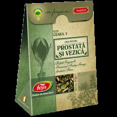 Ceaiul V – ceai pentru prostată și vezică, ceai la pungă (rețetă originală Andrei Farago)