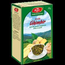 Ghimbir, rizomi, ceai la pungă