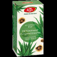 Detoxifiant cu ganoderma, capsule vegetale