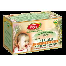 Babycalm, ceai la plic